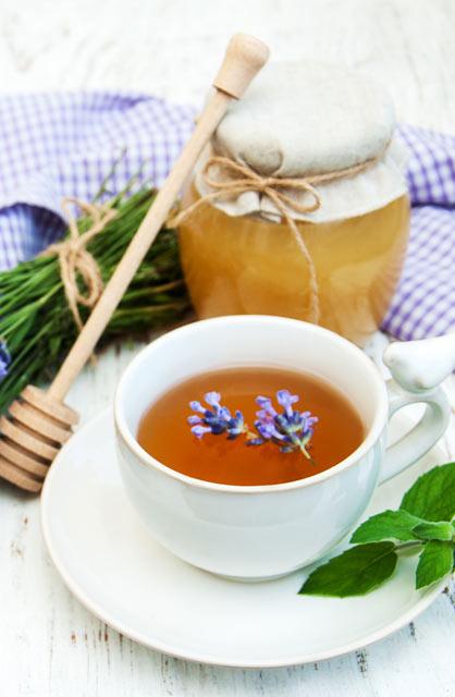 Lavender Vanilla Bean Iced Tea